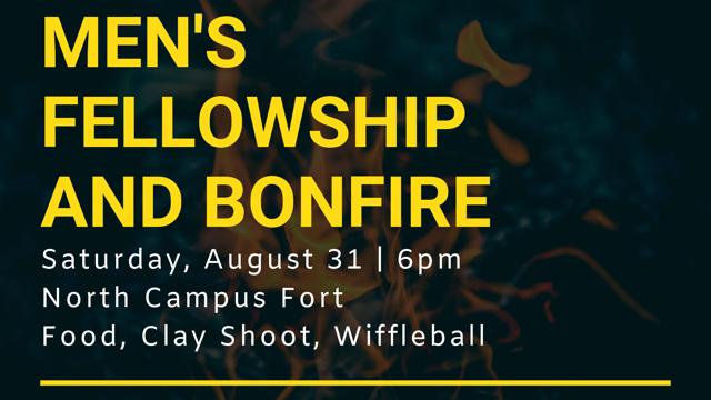 Men's fellowship and bonfire (1)